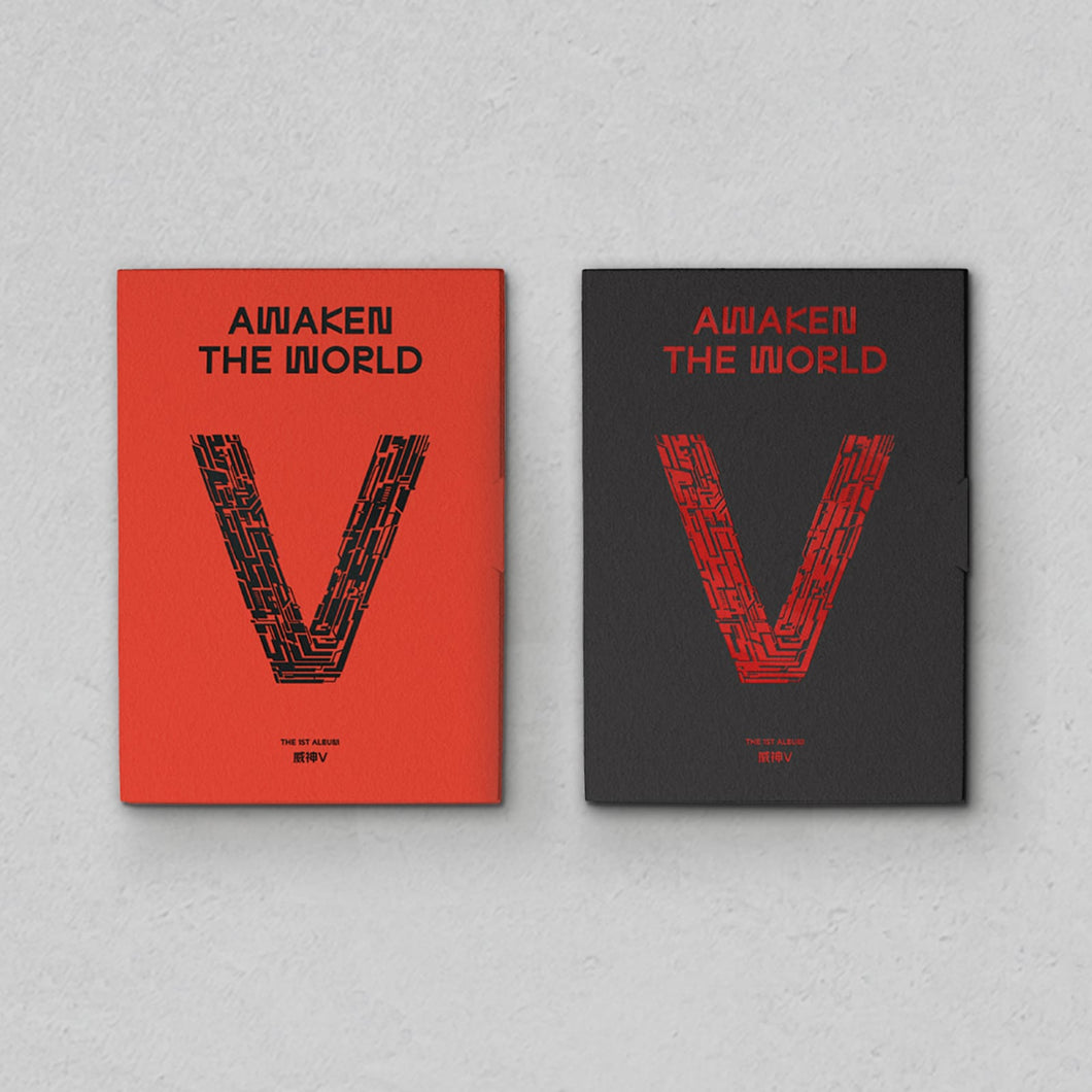WAYV 1ST ALBUM AWAKEN THE WORLD