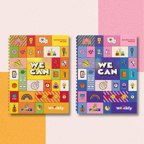 PREORDER: WEEEKLY MINI ALBUM VOL 2 WE CAN