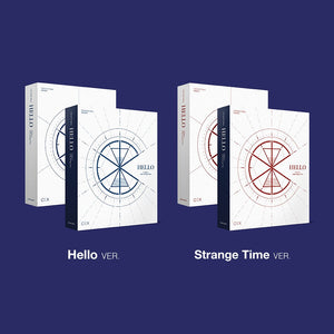 CIX 3RD MINI ALBUM 'HELLO CHAPTER 3. HELLO STRANGE TIME' (HELLO/STRANGE TIME VER.)