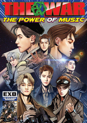 EXO 4th Album Repackage [POWER] (Korean, Chinese Vers.)