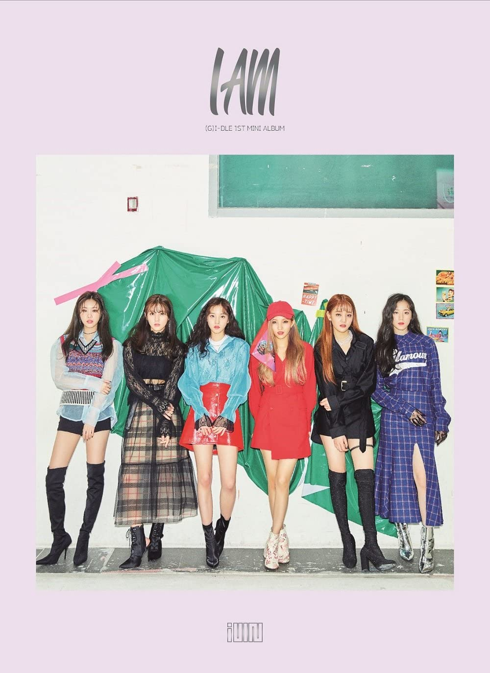 (G)-IDLE - I Am 1st Mini Album G-IDLE