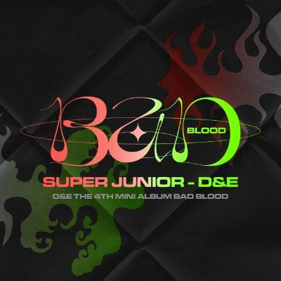 SUPER JUNIOR D&E - MINI ALBUM VOL 4 BAD BLOOD