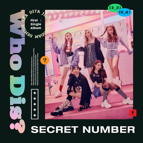 Secret Number 1st Single Album WHO DIS?