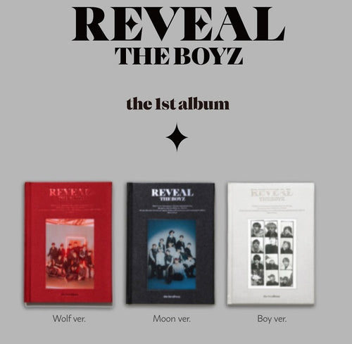 THE BOYZ - 1st Album Volume 1 [REVEAL] (Version Wolf, Moon or Boy)