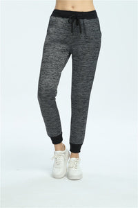 LouisAura™ Female Elastic Waist Casual Designer Pants