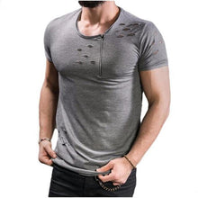 LouisAura™ Male High Quality Cotton O-neck T-shirt