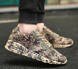 LouisAura™ Male Camouflage Comfort Designer Shoes