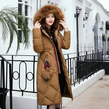 LouisAura™ Female Fur Parker Designer Coat