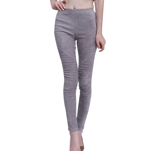 LouisAura™ Female Elastic Stretchy Slim Pants