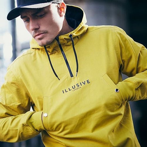 Illusive Male Autumn Winter Bodybuilding Hoodie