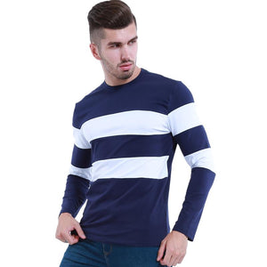 LouisAura™ Male Autumn Winter Mens Long Sleeve T-Shirt
