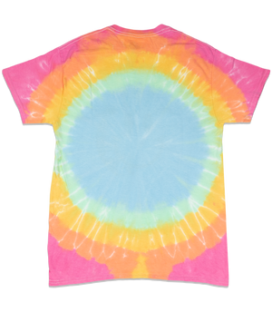 Happy Earth Adult T-shirt (Cotton candy)
