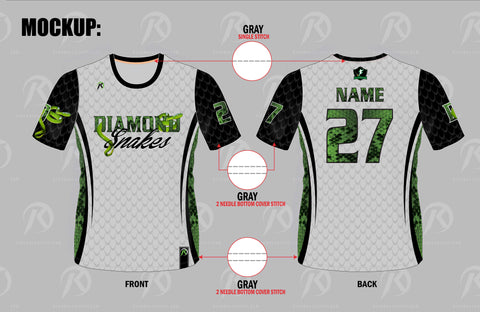 TMP - Diamond Snakes Jersey