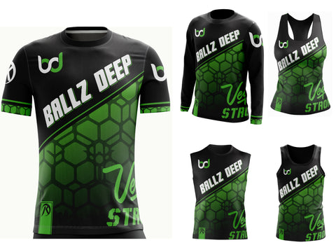 Ballz Deep - Black Jersey