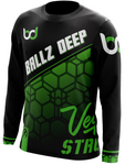 Ballz Deep Black Long Sleeve