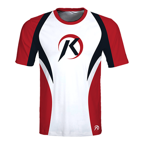 KICKBALL Full Sublimation- Custom SHORT SLEEVE Jersey