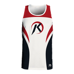 KICKBALL - Full Sublimation- Custom SLEEVELESS Jersey