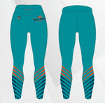 TMP - NO FLY ZONE TEAL - LEGGINGS