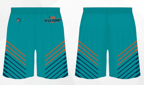 TMP - NO FLY ZONE TEAL - SHORTS