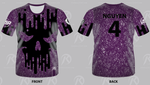 TMP - Outsiders Dodgeball Purple - Short Sleeve