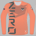 [ZERO] Orange Long Sleeve Jersey