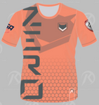 [ZERO] Orange Short Sleeve Jersey