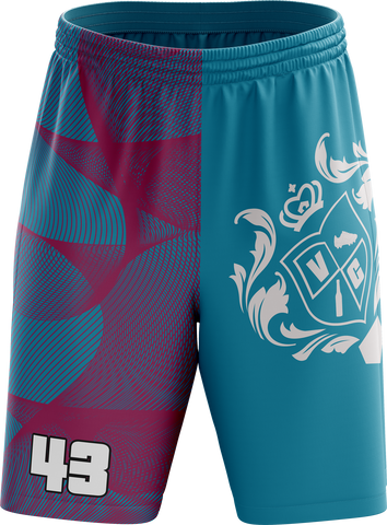 Vice City Ballers - Turquoise Shorts