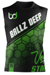 Ballz Deep Black Sleeveless