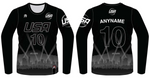 TEAM USA DODGEBALL - Black Long Sleeve Jersey
