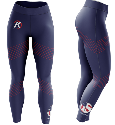 US Women's Dodgeball Leggings