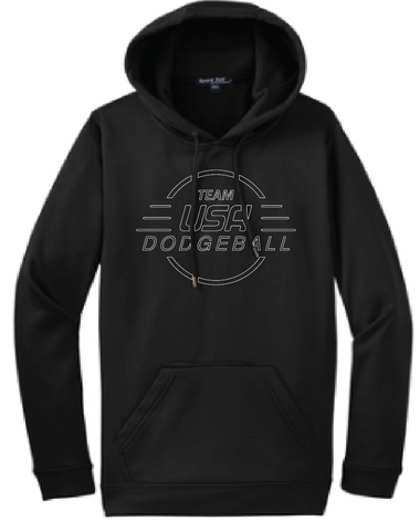 TEAM USA DODGEBALL - Warm Up Hoodie