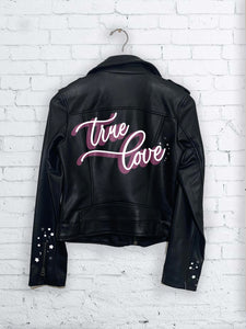 True Love Hand Painted Jacket : LIMITED EDITION LOVE COLLECTION