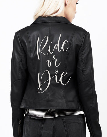 Ride Or Die - Bridesmaid DIY Leather Jacket Kit