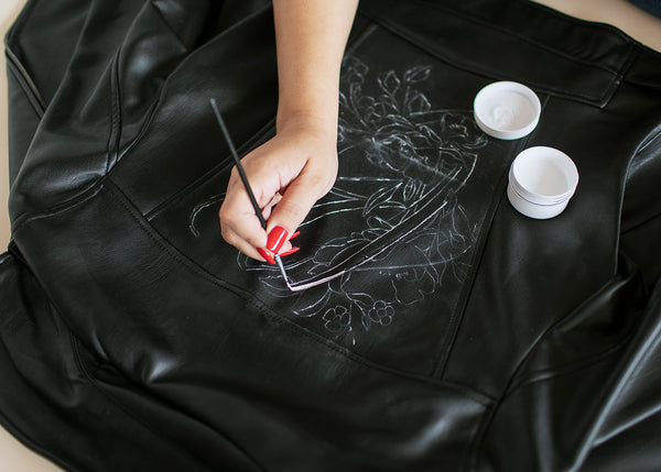 Kid's DIY Leather Jacket Kit