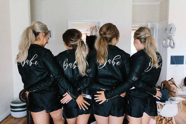 diy bridesmaid jacket, diy bridesmaid gift