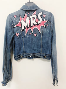 """Mrs"" Jacket- Size M -Pre Loved"