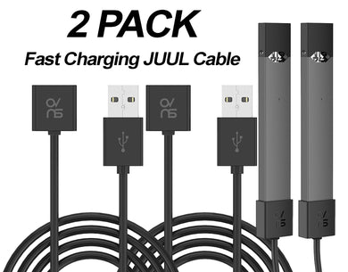 JUUL Charger USB Fast Charging Cable NEW Design - 2 PACK - VaperSkins