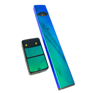 JUUL Skin Full Wrap- Blue/Green Holographic - VaperSkins