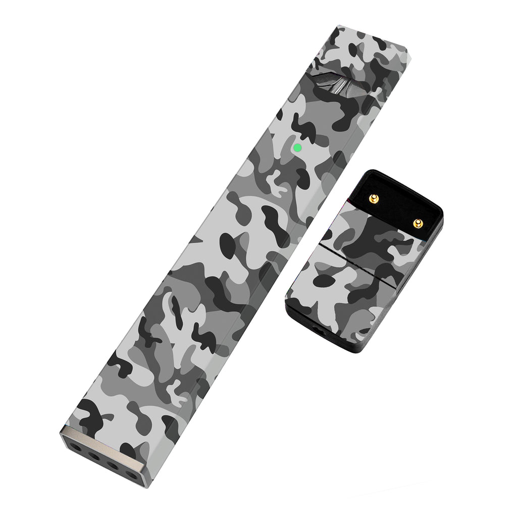 JUUL Skin Full Wrap - Gray Camo - VaperSkins