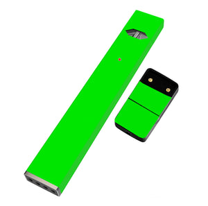 Pack of 2 Premium Full Skin for JUUL (Fluorescent Green) - VaperSkins