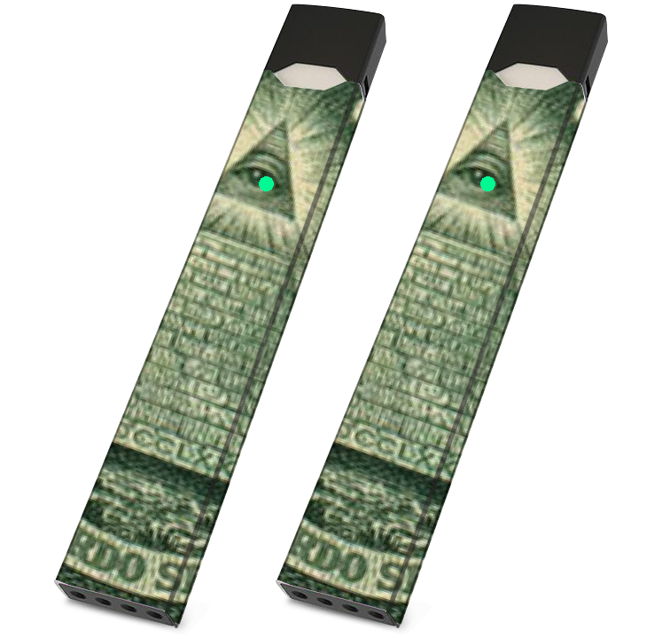 JUUL Skin Wrap - Illuminati- Pack of 2 - VaperSkins