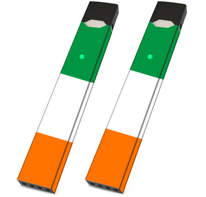 JUUL Skin Wrap - Irish Flag- Pack of 2 - VaperSkins