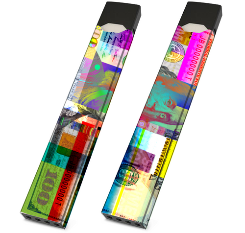 JUUL Skin Wrap - Color $100 - Pack of 2 - VaperSkins