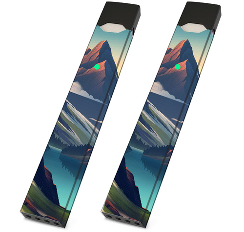 Skin For JUUL - Mountain Cool- Pack of 2 - VaperSkins