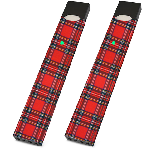 JUUL Wrappers Wrap - Red Plaid- Pack of 2 - VaperSkins