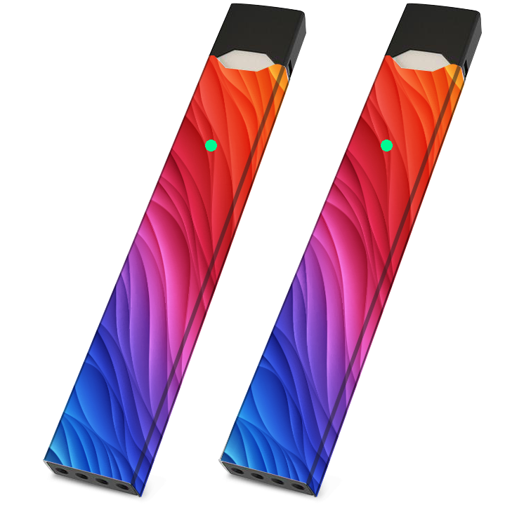 JUUL Wrappers Wrap - Rainbow- Pack of 2 - VaperSkins