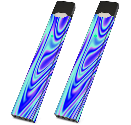 Skin For JUUL - Trippy  - Pack of 2 - VaperSkins