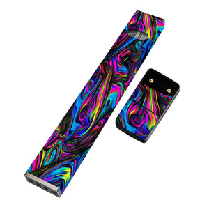 JUUL Skin Full Wrap- Trippy Swirl - VaperSkins