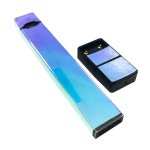 Pack of 2 Full Skin For JUUL - White Opal Holographic Chrome - VaperSkins