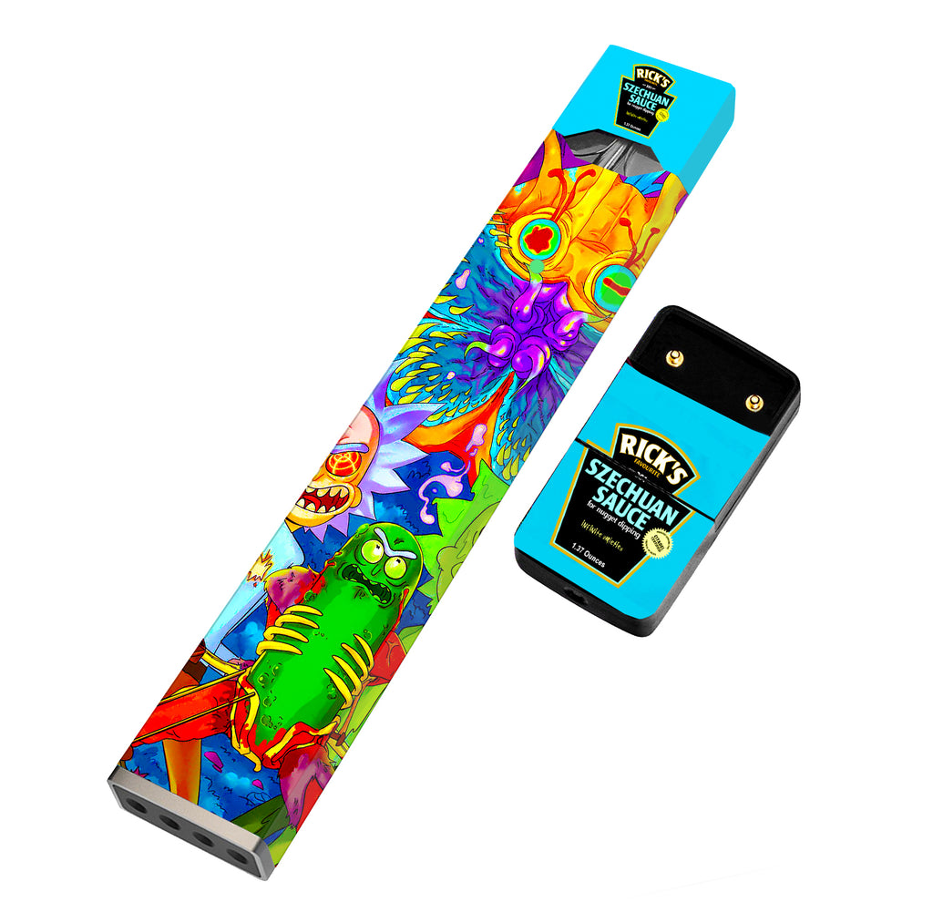 JUUL Skin Full Wrap - Rick & Morty - VaperSkins